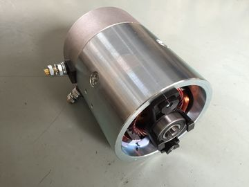 White Zinc 1600W 12 Volt DC Motor for Hydraulic Power Pack Units