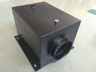 17L Square Hydraulic Oil Tanks With 120mm Neck Size Horizontal Mounting
