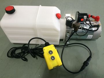 DC 12V Motor Horizontal Single Acting  Mini Hydraulic Power Packs for Dump Trailer