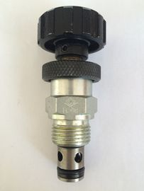 Aluminum Adjustable Hydraulic Regulating Valve with Reverse Flow Check