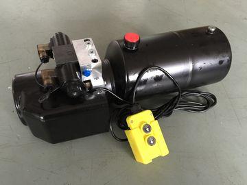 Arbeits-Druck 18Mpa DCs 12V 1.6KW mit Rundstahl-Behälter-mini hydraulischen Versorgungsbaugruppen für Gabelstapler