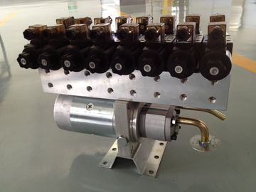 Kundengebundene horizontale 8 Hydraulikaggregate der Stations-24V mit Richtungsventil