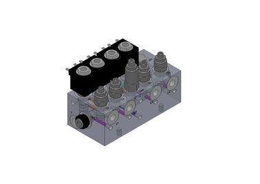 Aluminiumhydraulikventil-Vielfältigkeits-Blöcke für Gabelstapler-System
