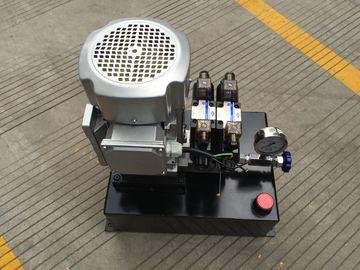 Einfachwirkendes Hydraulikaggregat Aufzug-Tabelle Wechselstroms 380V mit Vierkantstahl-Behälter