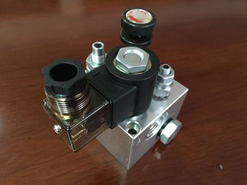 120mm/123mm hydraulische Block-Aluminiumvielfältigkeit für Aufzug-Hydrauliksystem