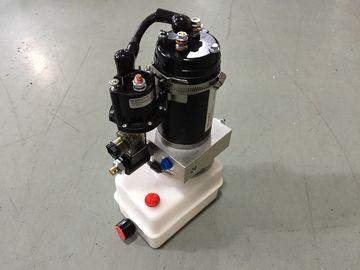 Horizontale Montage-tragbare mini hydraulische Versorgungsbaugruppen 12V mit dem Motor 0.8Kw feuerfest